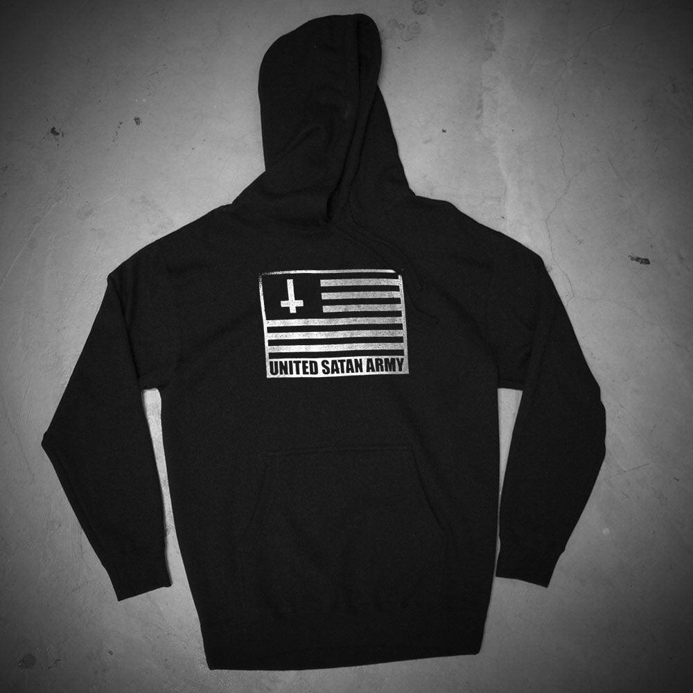 Image of USA BLACK HOODIE