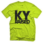 Image of KY Raised in Neon Green & Black