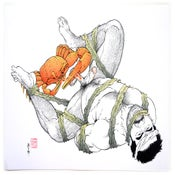 Image of Ostia Risograph Print by Gengoroh Tagame