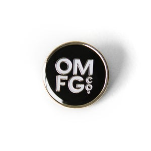 Image of OMFGCO Classic Dot Enamel Pin