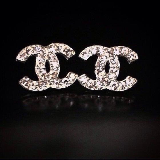 Image of Double C Earrings