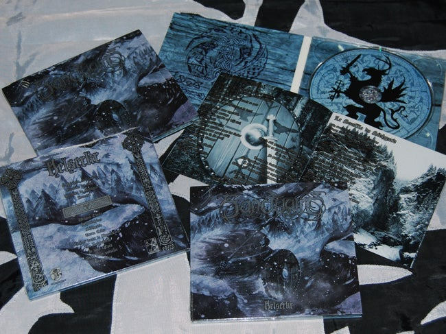 "Image of SANCTUAIRE ""Helserkr"" digipack CD"