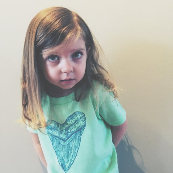 Image of Megalodon Tooth Kid's Tee