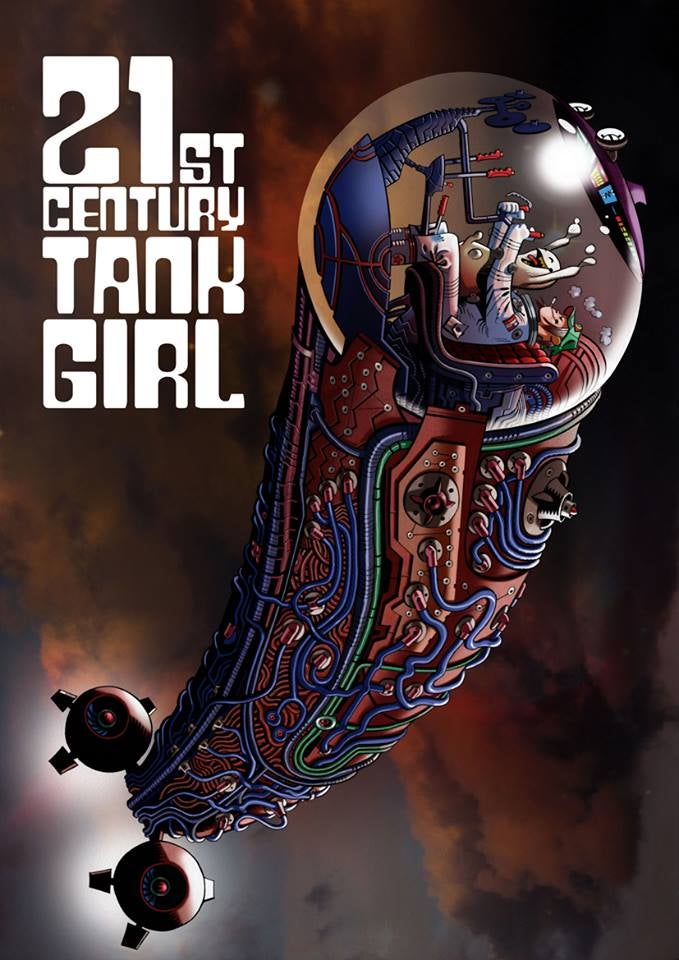 Image of 21st Century Tank Girl Book - signed by all 8 contributors! (Kickstarter limited edition)