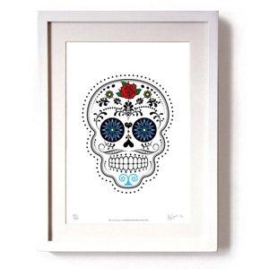 Image of Day Of The Dead (Día De Muertos) Limited Edition Print