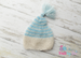 Image of Striped/Solid Tassel Hat