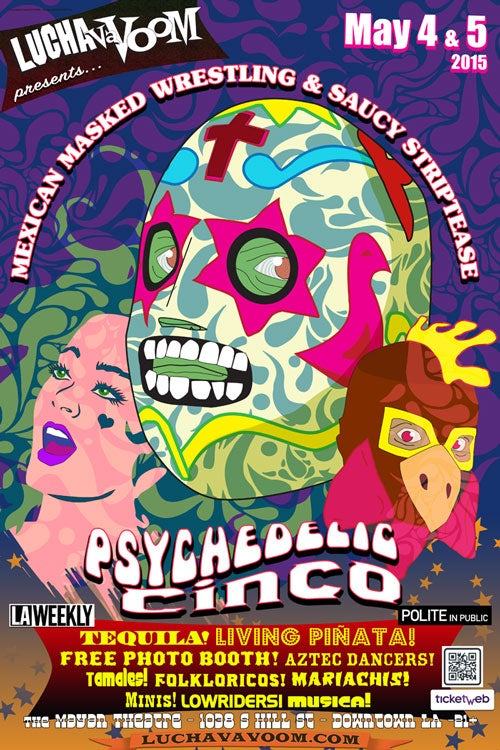 Image of Cinco de Mayo 2015 Poster