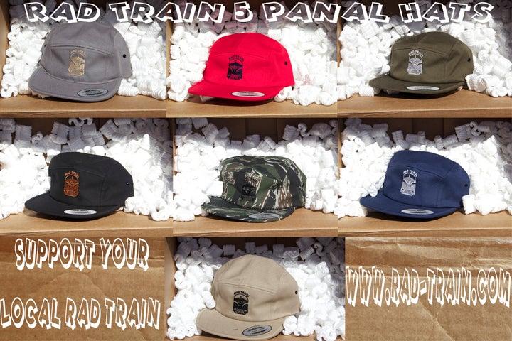 Image of Rad 5 panel hats