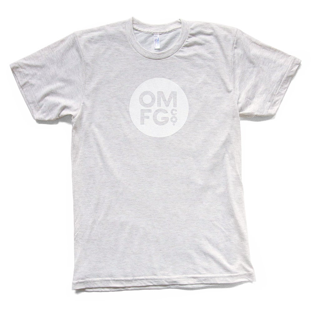 Image of White Dot Logo Tee