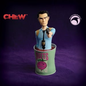 Image of CHEW: Limited Edition Tony Chu mini-bust BACK ROOM FIND!