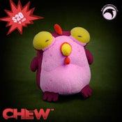 Image of Plush Chog - Beet Red KICKSTARTER EXCLUSIVE
