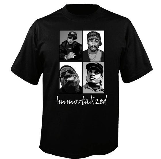 Image of Immortalized - (Pimp C, 2Pac, Biggie, Eazy E)