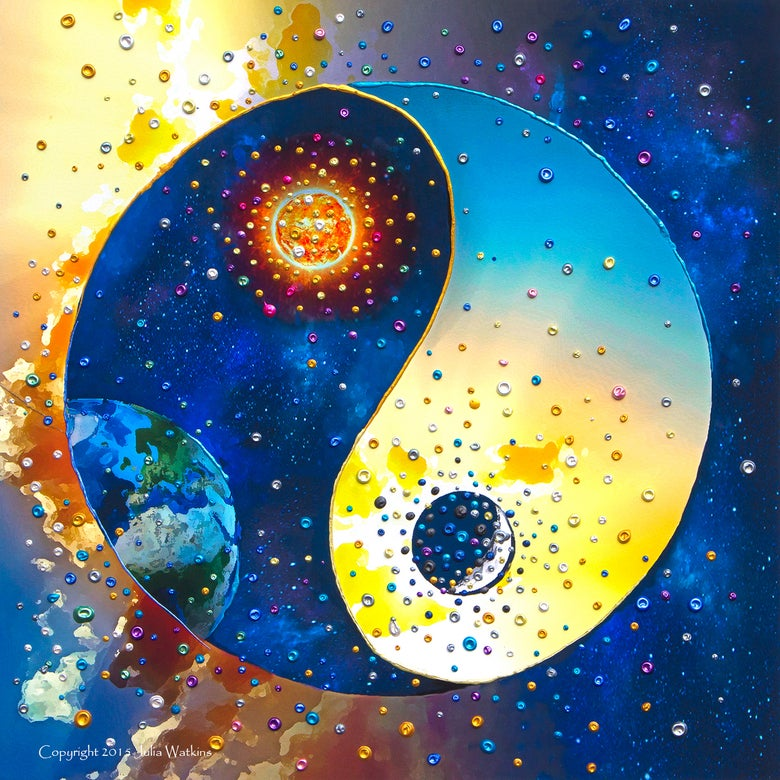 Image of Yin & Yang Energy Balancing Giclee Print