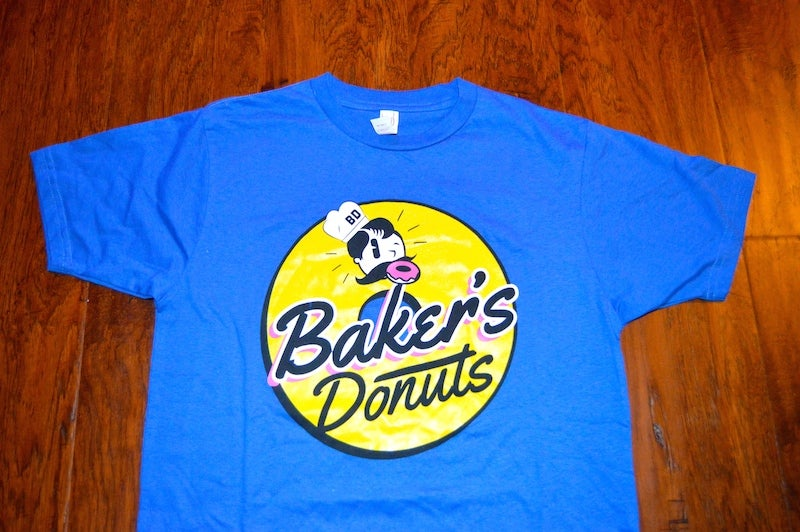 Image of Bakers Donuts Co-ed T-shirts