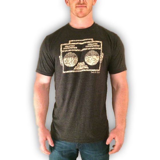 Image of PAISLEY BOOMBOX TEE (XL only)