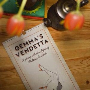 Image of Gemma's Vendetta - a pinup calendar fighting Multiple Sclerosis