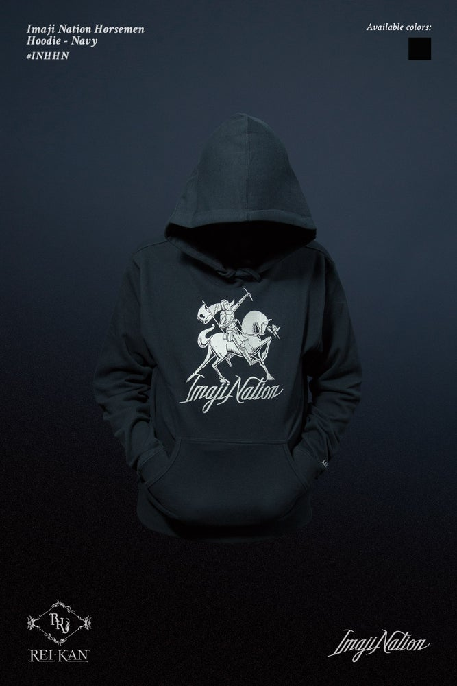 Image of Imaji Nation Horsemen Hoodie
