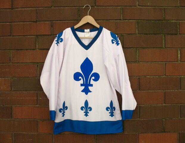 "Image of ""Fleur De Lis"" Hockey Jersey"