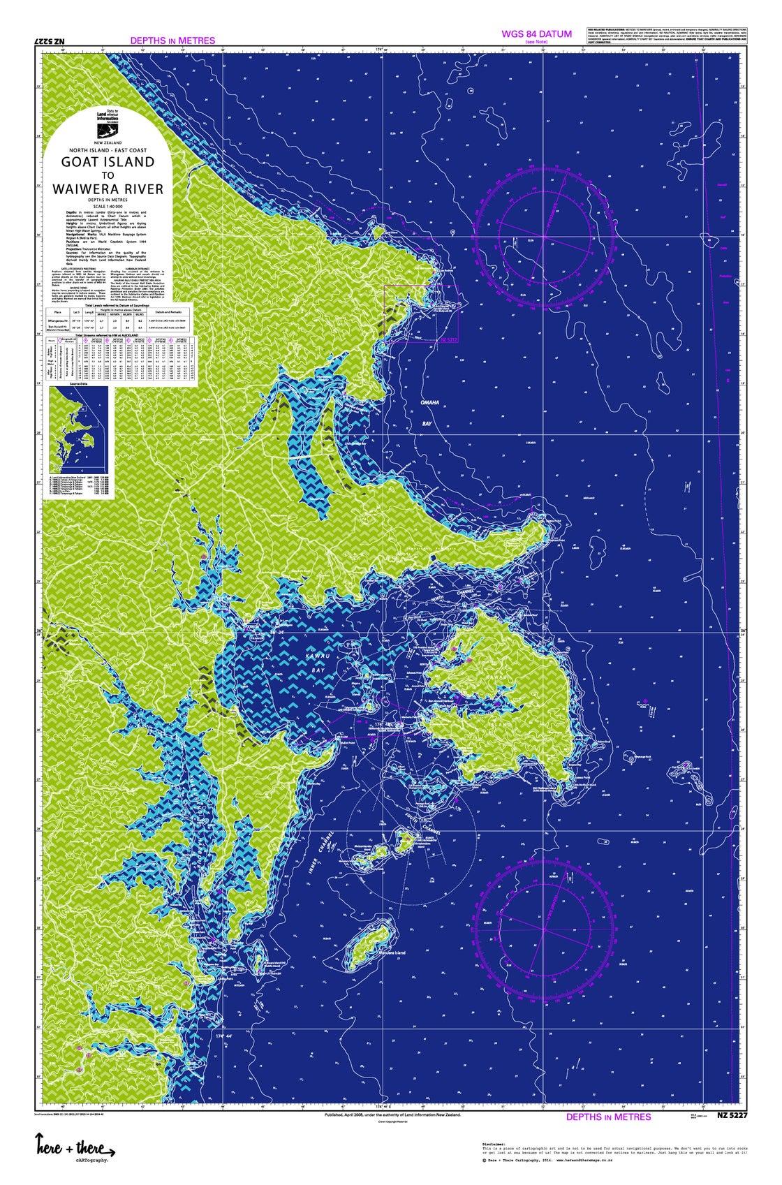 Image of Goat Island to Waiwera - Blue Bombshell