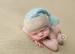 Image of Striped/Solid Tassel Hat