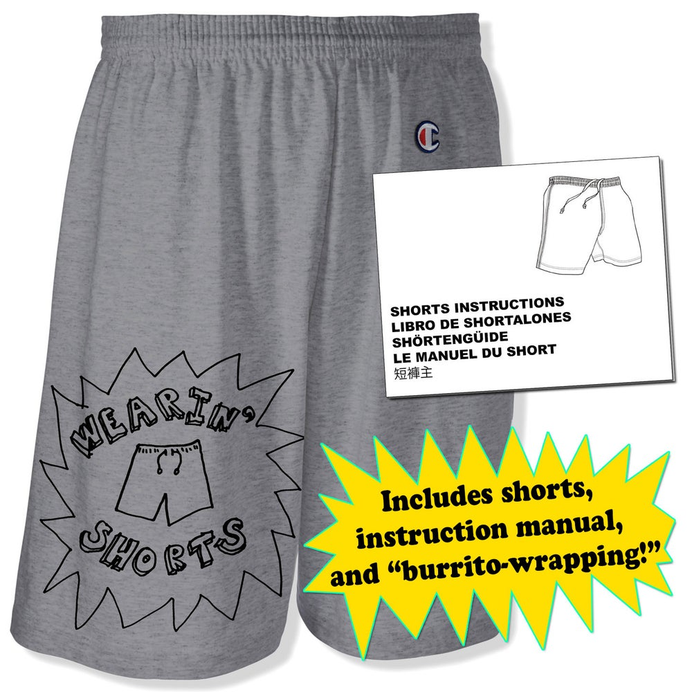 Image of WEARIN' SHORTS Screen Printed Shorts Package
