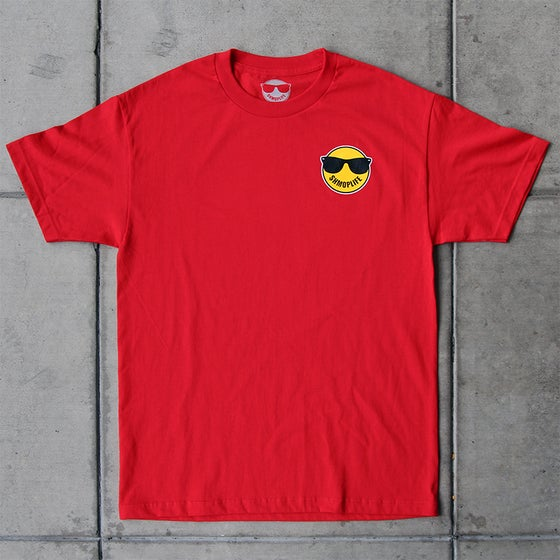 Image of SHMOPLIFE LOGO TEE (RED)