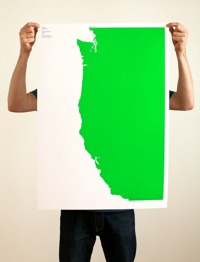 Image of Build poster in Green