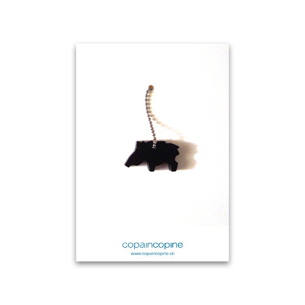 Image of Halskette und Anhänger von COPAINCOPINE - Wildschwein