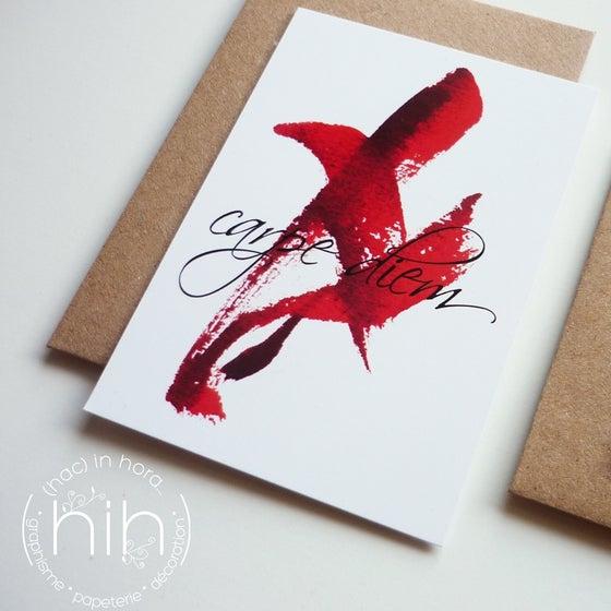 Image of 3 petites cartes ١رgestuelle١ر carpe diem
