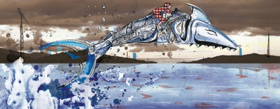 Image of Shark jockey