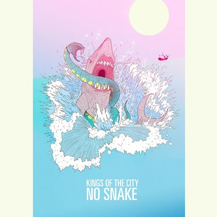 Image of No Snake 'Shark' Poster