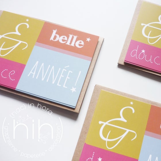 Image of 5 cartes de voeux ≒(tutti e) quattro≒