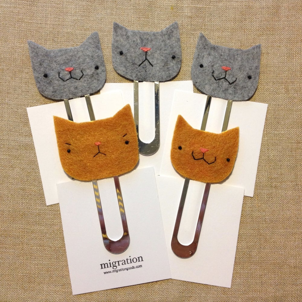 Image of cathead bookmarks