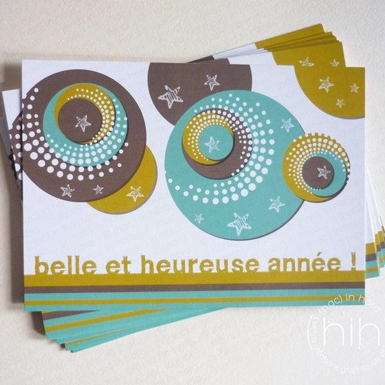 Image of 5 ou 10 cartes de voeux pop !