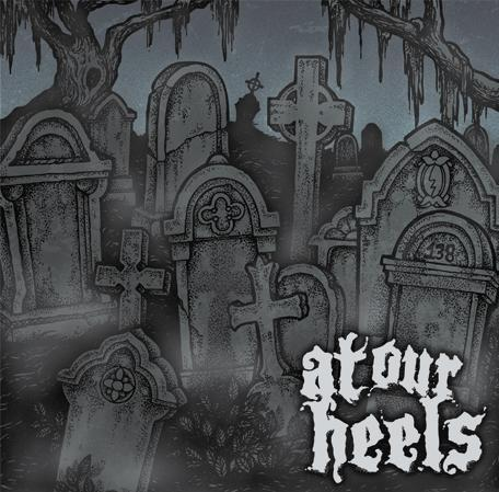 """Image of At Our Heels-S/T 7"""" + Digital Download"""