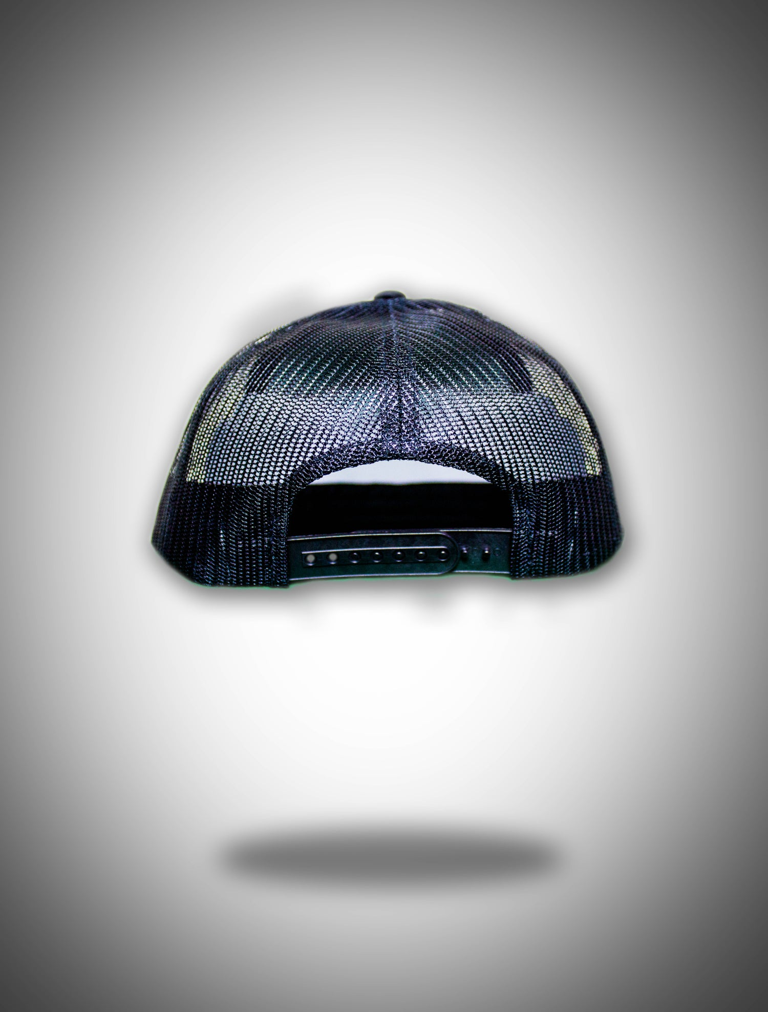 Image of Black Trucker Patch Snapback