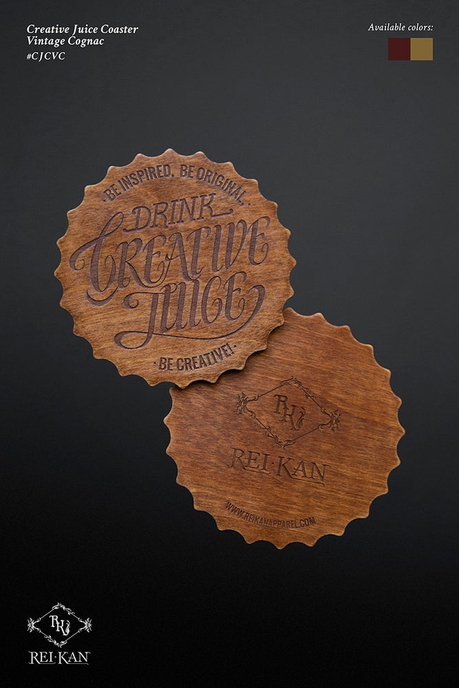 Image of Creative Juice Coasters (2 coasters per pack)
