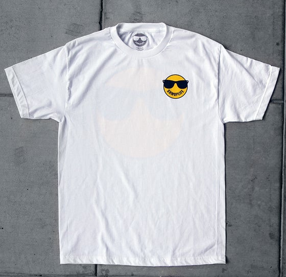 Image of SHMOPLIFE LOGO TEE (WHITE)