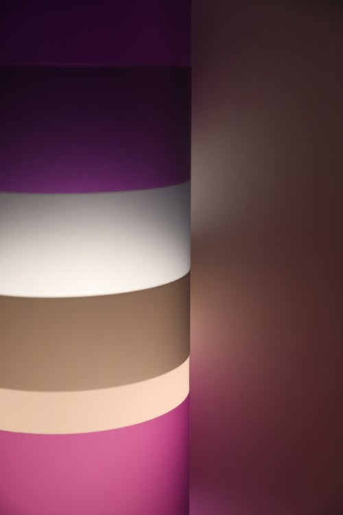 Image of The Gobstopper Lamp - Grape/Smoke