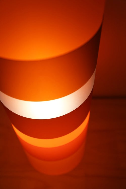 Image of The Gobstopper Lamp Orange
