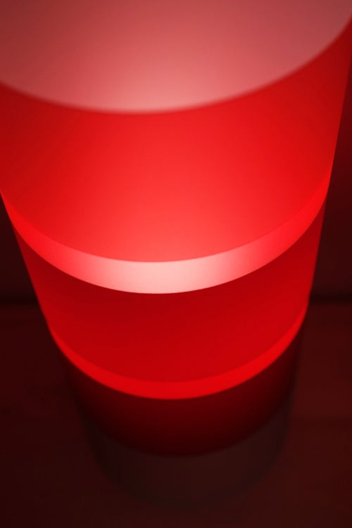Image of The Gobstopper Lamp Strawberry Red