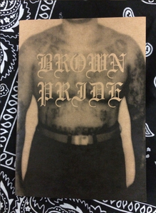 Image of Jesse Lizotte 'Brown Pride' zine