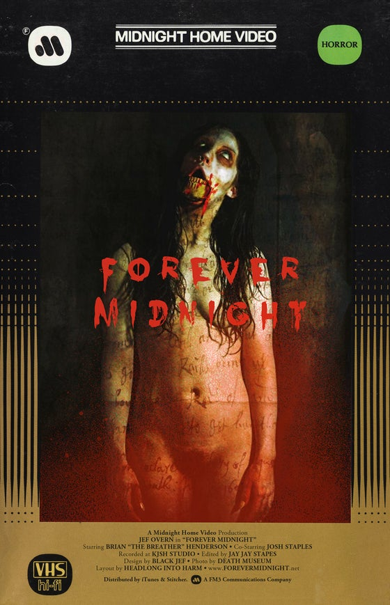 Image of Forever Midnight VHS 11x17 Print