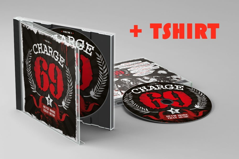 "Image of CD , Charge 69 ""Much More Than Music"" + Tshirt"