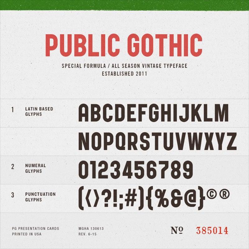 Image of Public Gothic Circular