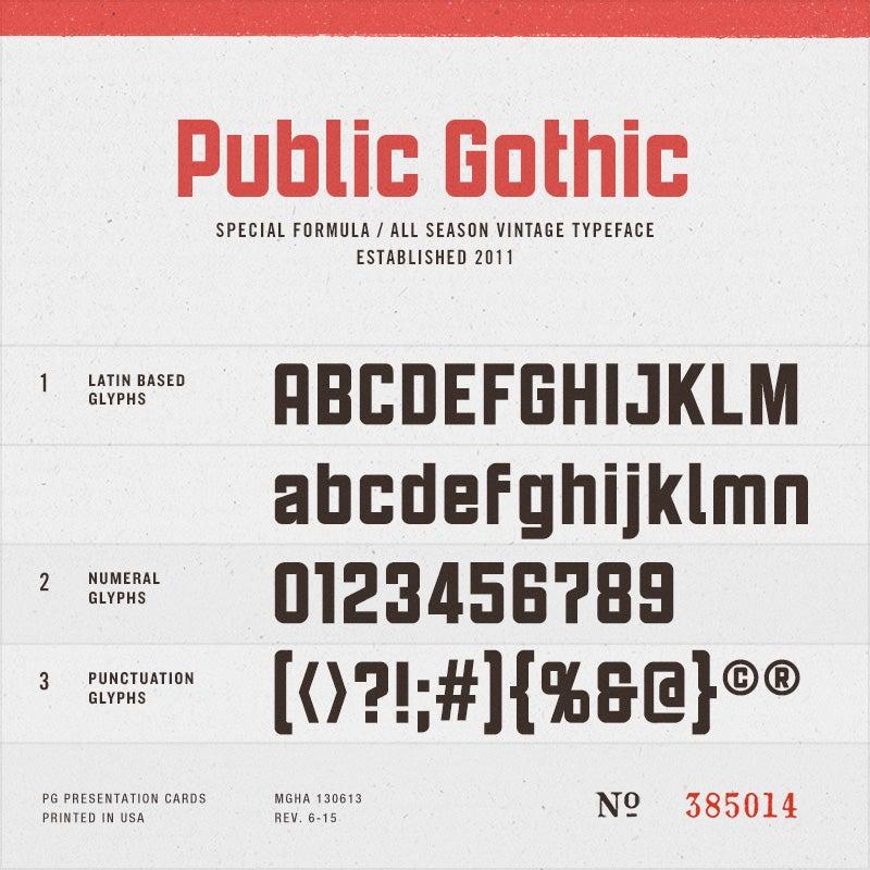 Image of Public Gothic Little