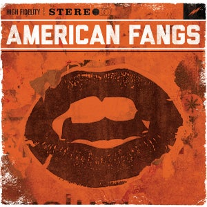 Image of AMERICAN FANGS -Self Titled- LP - 2013