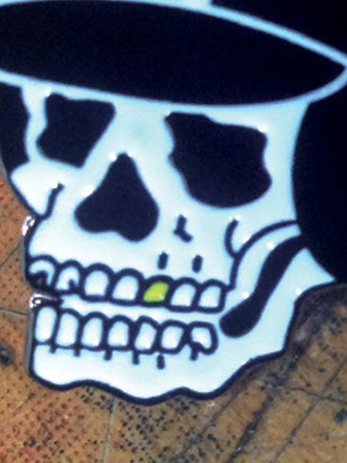Image of Speed Skull Pin