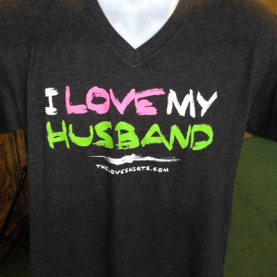 Image of I Love My Husband (the paint stroke)