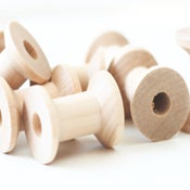 Image of Small Wooden Spools